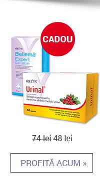 Urinal 60 tb + Beliema Expert Gel Intim Cadou – 48 lei