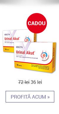 Urinal Akut 10 tb 1+1 cadou – 36 lei