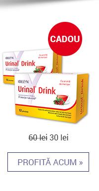 Urinal Drink 12 plicuri 1+1 cadou – 30 lei